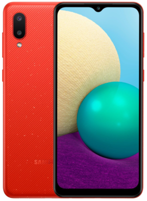 Смартфон Samsung Galaxy A02 (A022/32) Red 3