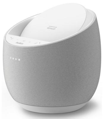 Смарт спікер Belkin + бездротова зарядка Devialet Soundform Elite, white 2