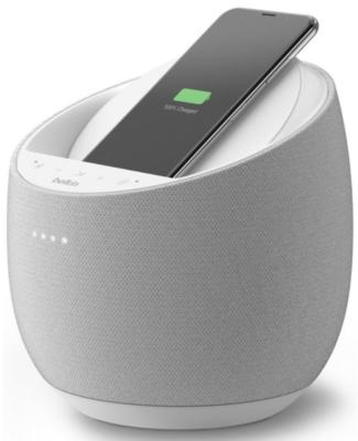 Смарт спікер Belkin + бездротова зарядка Devialet Soundform Elite, white 6