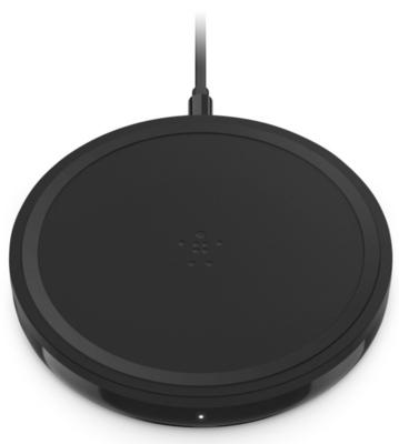 Бездротовий зарядний пристрій Belkin Pad Wireless Charging Qi, 10W, black 1