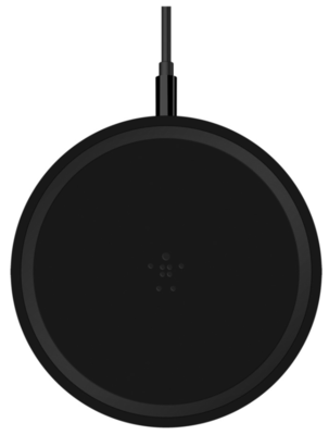 Бездротовий зарядний пристрій Belkin Pad Wireless Charging Qi, 10W, black 2