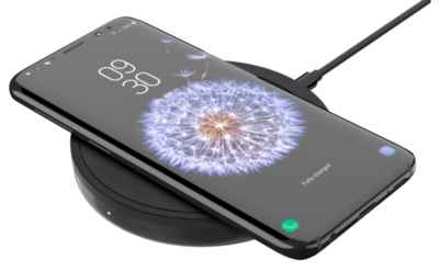 Бездротовий зарядний пристрій Belkin Pad Wireless Charging Qi, 10W, black 6