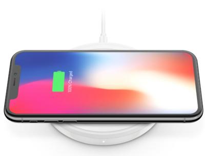 Беспроводное зарядное устройство Belkin Pad Wireless Charging Qi, 10W, white 4