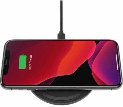 Беспроводное ЗУ Belkin Pad Wireless Charging Qi, 15W, black 5