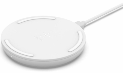 Беспроводное ЗУ Belkin Pad Wireless Charging Qi, 15W, white 1