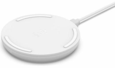 Беспроводное ЗУ Belkin Pad Wireless Charging Qi, 15W, white 5