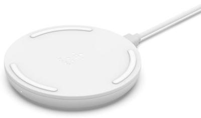Бездротовий зарядний пристрій Belkin Pad Wireless Charging Qi, 10W, no PSU, white 1