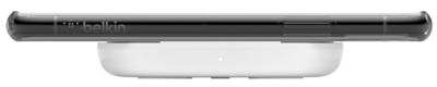 Бездротовий зарядний пристрій Belkin Pad Wireless Charging Qi, 10W, no PSU, white 3