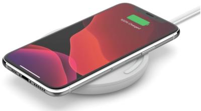 Бездротовий зарядний пристрій Belkin Pad Wireless Charging Qi, 10W, no PSU, white 4