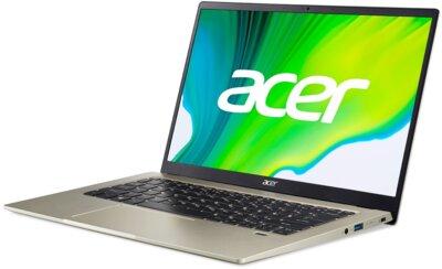 Ноутбук Acer Swift 1 SF114-34 (NX.A7BEU.00E) Gold 3