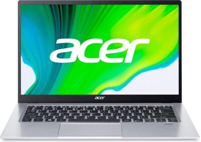 Ноутбук Acer Swift 1 SF114-34 (NX.A77EU.00G) Silver 1