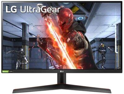 """Монітор 27"""" LG UltraGear 27GN600-B Black 1"""