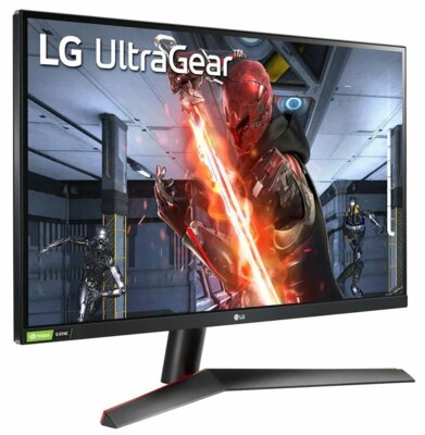 """Монітор 27"""" LG UltraGear 27GN600-B Black 2"""