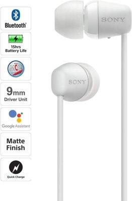 Наушники Sony WI-C200 (WIC200W.CE7) White 4