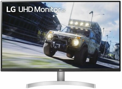 "Монітор 31.5"" LG UltraFine 32UN500-W White 1"