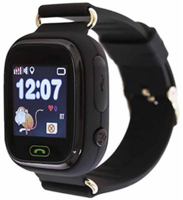 Дитячий телефон-годинник з GPS трекером GOGPS К04 чорний 1