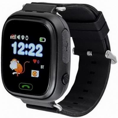 Дитячий телефон-годинник з GPS трекером GOGPS К04 чорний 3