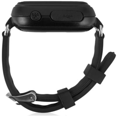 Дитячий телефон-годинник з GPS трекером GOGPS К04 чорний 4
