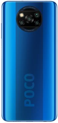 Смартфон Poco X3 6/128Gb Cobalt Blue (M2007J20CG) 2