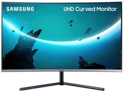 "Mонітор 32"" Samsung Curved U32R590CWI (LU32R590CWIXCI) Black 2"