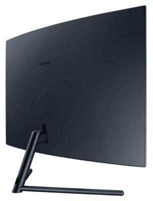 "Mонітор 32"" Samsung Curved U32R590CWI (LU32R590CWIXCI) Black 3"