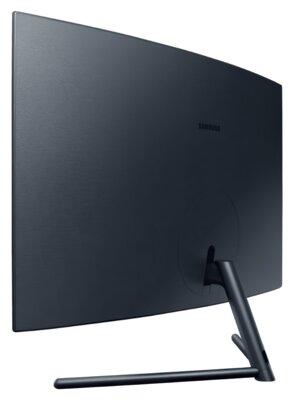 "Mонітор 32"" Samsung Curved U32R590CWI (LU32R590CWIXCI) Black 4"