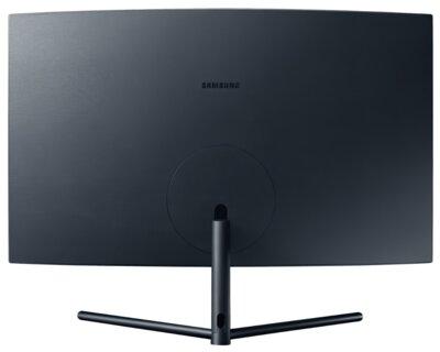 "Mонітор 32"" Samsung Curved U32R590CWI (LU32R590CWIXCI) Black 5"