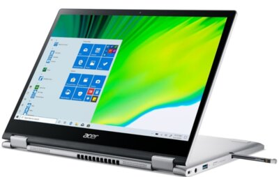 Ноутбук Acer Spin 3 Active SP313-51N-58LV (NX.A6CEU.00C) Pure Silver 1