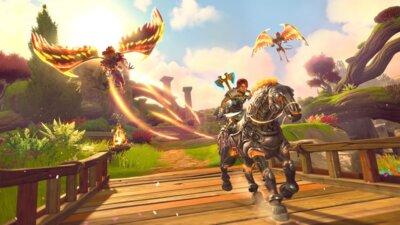 Гра Immortals Fenyx Rising (PS4, Безкоштовне оновлення для PS5, Російська версія) 2