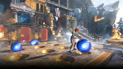 Гра Immortals Fenyx Rising (PS4, Безкоштовне оновлення для PS5, Російська версія) 9