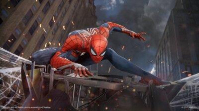 Гра Marvel Людина-павук. Видання «Гра року» (PS4, Російська версія) 7