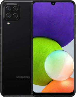 Смартфон Samsung Galaxy A22 4/128GB (SM-A225FZKGSEK) Black 1