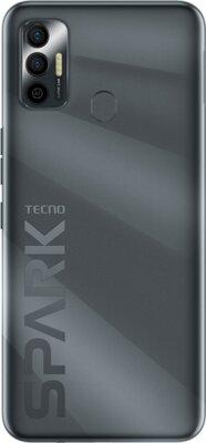 Смартфон Tecno Spark 7 (KF6n) NFC 4/128Gb (4895180766428) Magnet Black 5