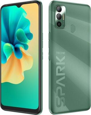 Смартфон Tecno Spark 7 (KF6n) NFC 4/128Gb (4895180766435) Spruce Green 4