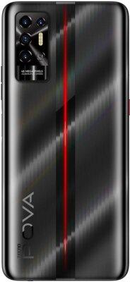 Смартфон Tecno POVA-2 (LE7n) 4/64Gb (4895180768460) Dazzle Black 3