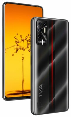 Смартфон Tecno POVA-2 (LE7n) 4/64Gb (4895180768460) Dazzle Black 5
