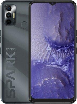 Смартфон Tecno Spark 7 Go (KF6m) NFC 2/32GB Dual Sim (4895180766367) Magnet Black 1
