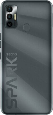 Смартфон Tecno Spark 7 Go (KF6m) NFC 2/32GB Dual Sim (4895180766367) Magnet Black 3