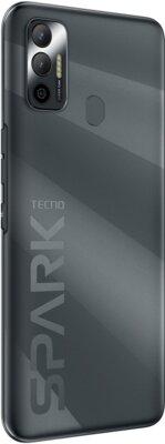 Смартфон Tecno Spark 7 Go (KF6m) NFC 2/32GB Dual Sim (4895180766367) Magnet Black 5