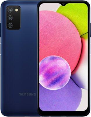 Смартфон Samsung Galaxy A03s 4/64GB (SM-A037FZBGSEK) Blue 1