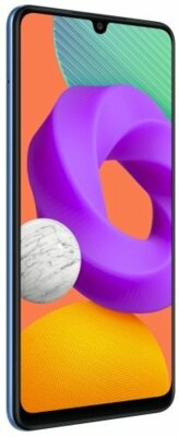 Смартфон Samsung Galaxy M22 4/128GB (SM-M225FLBGSEK) Light Blue 2