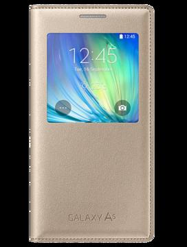 Купить Чехол Samsung S View EF-CA500BFEGRU Gold для Galaxy A5