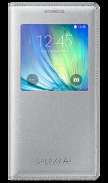 Купить Чехол Samsung S View EF-CA500BSEGRU Silver для Galaxy A5