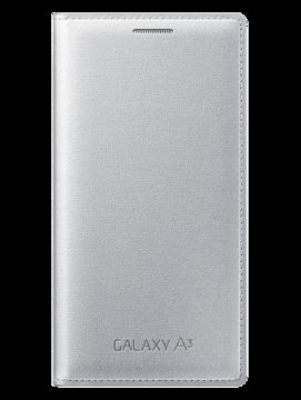 Купить Чехол Samsung Flip Cover EF-FA300BSEGRU Silver для Galaxy A3
