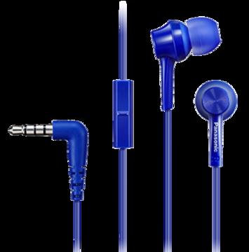 Купить Наушники Panasonic RP-TCM105E-A Blue