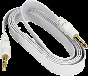 Купить Кабель аудио Globex AUX 3.5 мм White