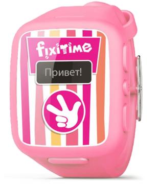 Купити Дитячий смарт-годинник Elari Fixitime FT-101P Pink