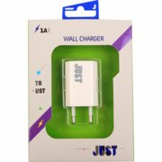 Купить Сетевое з/у JUST Trust USB Wall Charger (1A/5W, 1USB) White + Lightning cable (WCHRGR-TRSTLGHT-WHT)