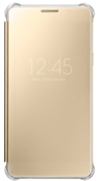 Купить Чехол Samsung Clear View EF-ZA710CZEGRU Pink Gold для Galaxy A7 (2016)