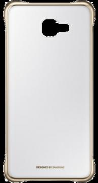 Купить Чехол Samsung Clear Cover EF-QA710CFEGRU Gold для Galaxy A7 (2016)